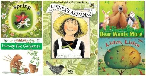 Spring around the World in Books