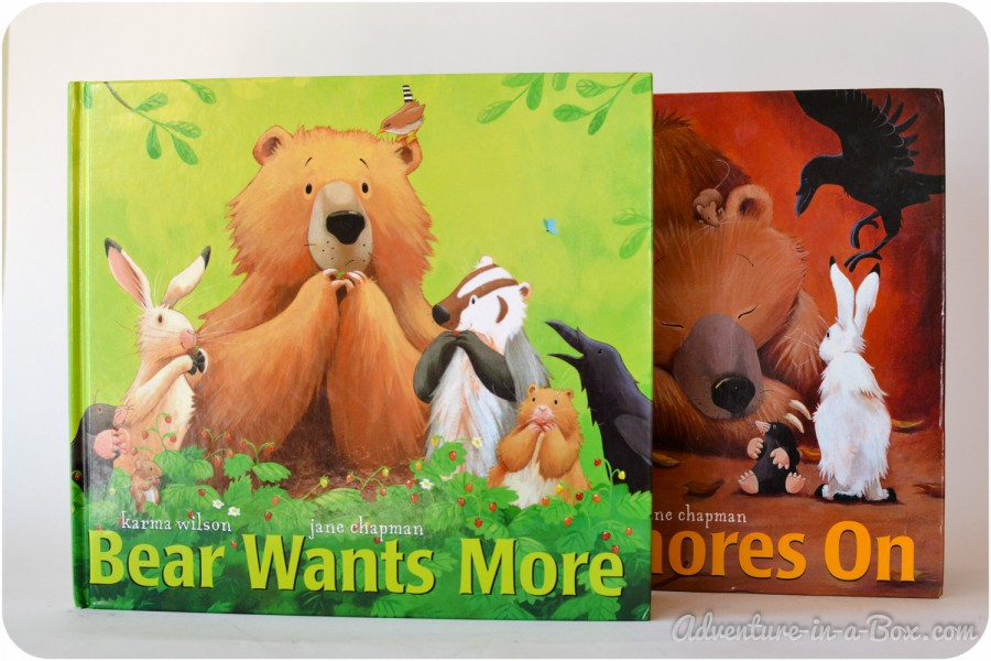 Bear Snores On and Bear Wants More: Book Reviews