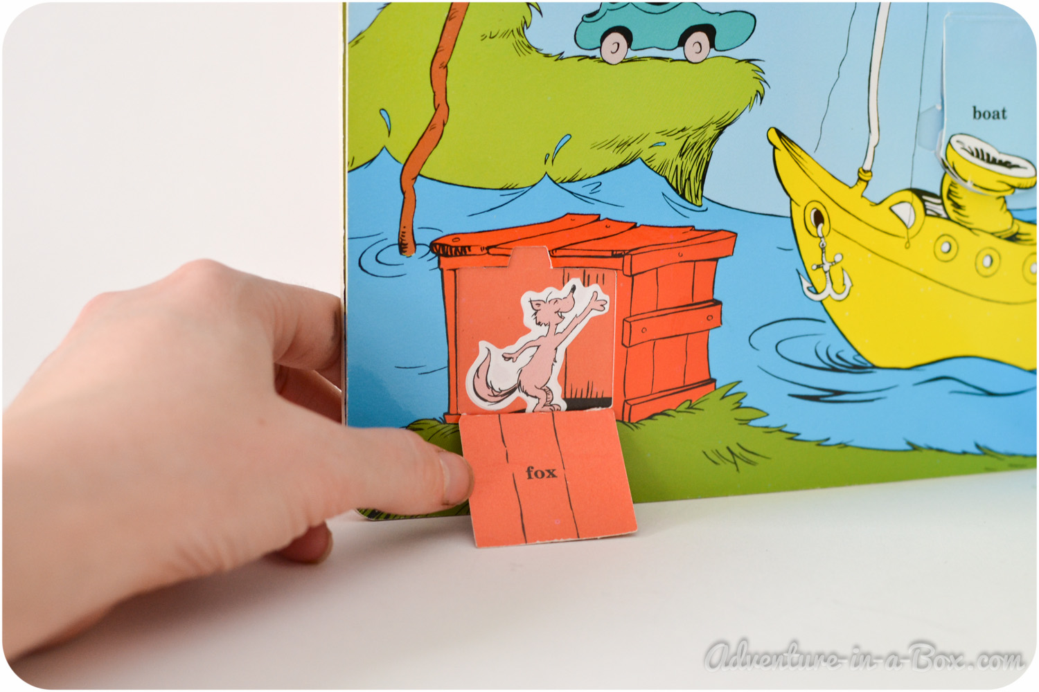 Books of Few Words: Dr Seuss and Emily Gravett