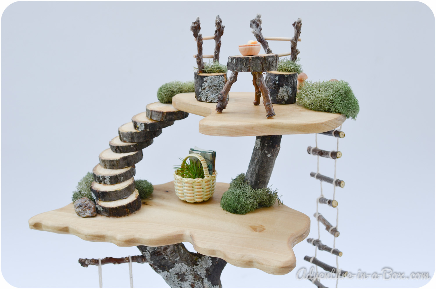 DIY Project: How to Make a Fairy Toy Tree House
