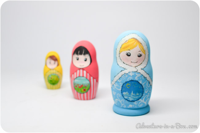 How to Make Matryoshka Nesting Dolls