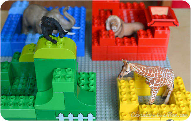 Goodnight, Gorilla: Building the Story with Lego