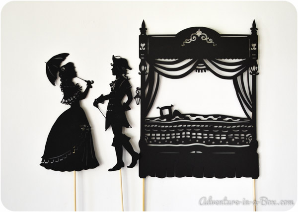 The Princess and the Pea: Shadow Puppet Show