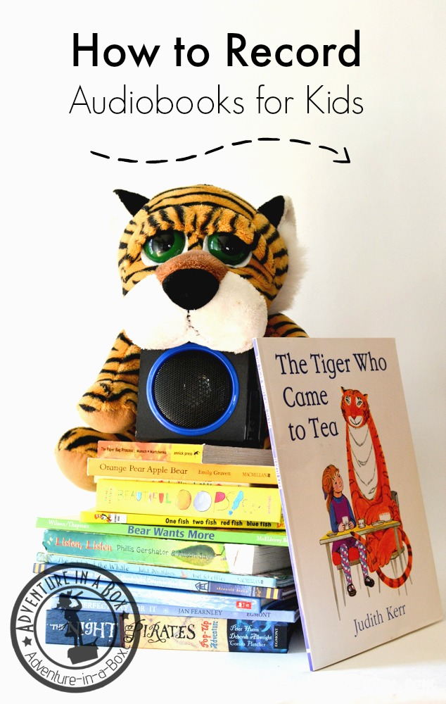 How to Record Audiobooks for Toddlers: It's difficult to find audibooks for toddlers, but guess what? You can record them yourself! Or ask grandparents, aunts and uncles.