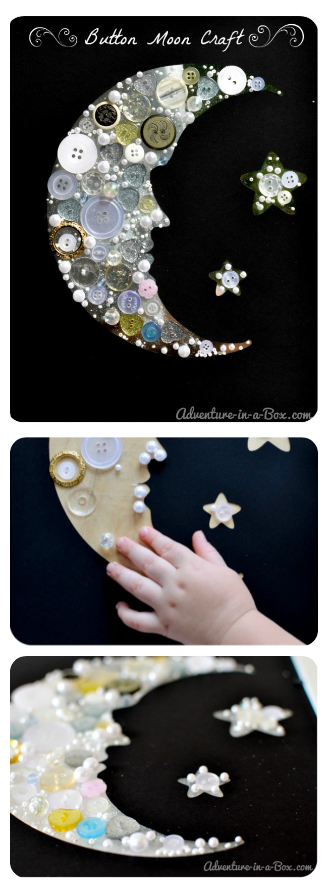 Moon And Star Craft Idea For Children