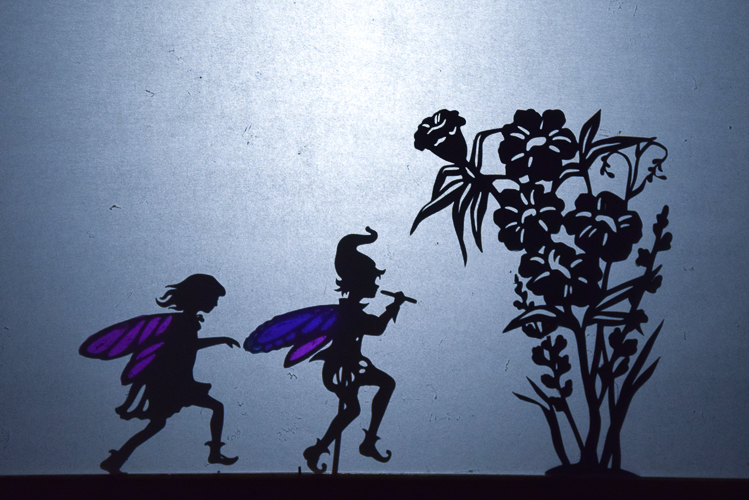 Fairy Shadow Puppets