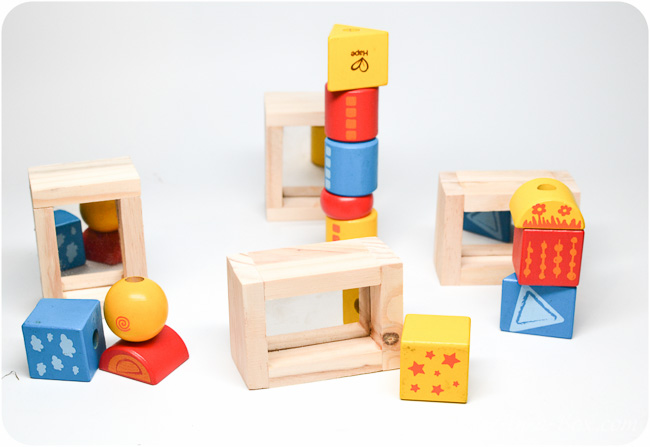 Mirror Wooden Blocks