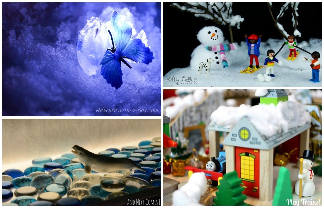 Winter Worlds in Miniature
