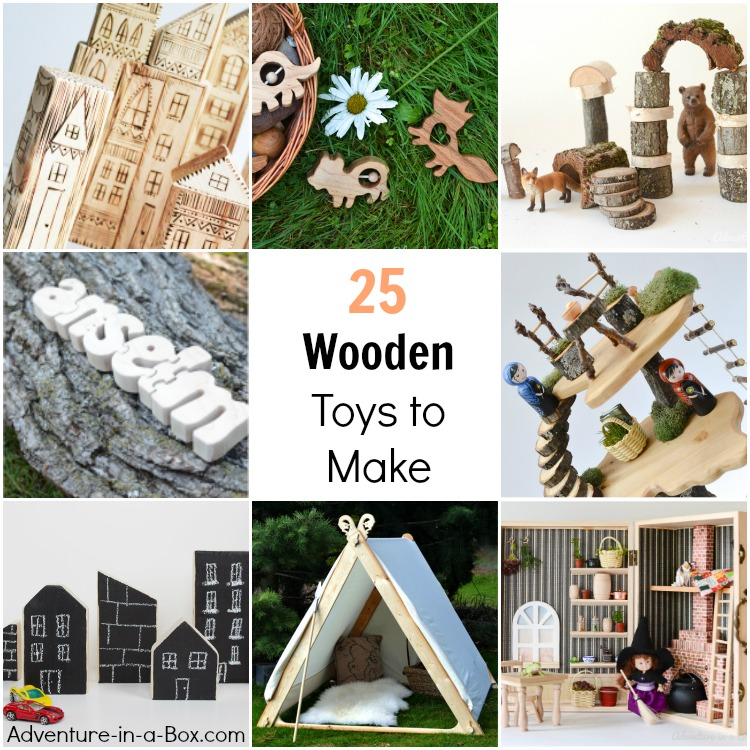 Wooden Toys You Can Make Yourself