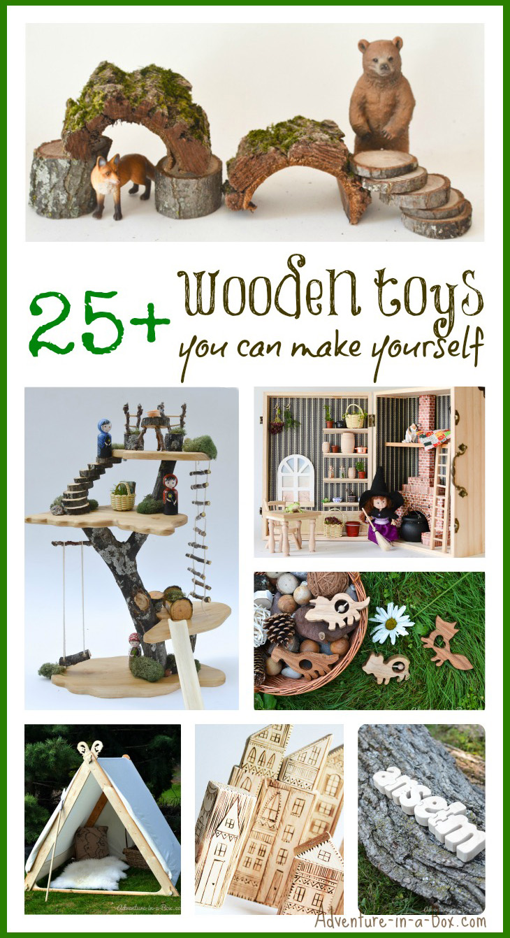 Are you thinking of giving a special gift to your kid and making a personalized wooden toy? Here is the list of our favourite DIY wooden toy projects!