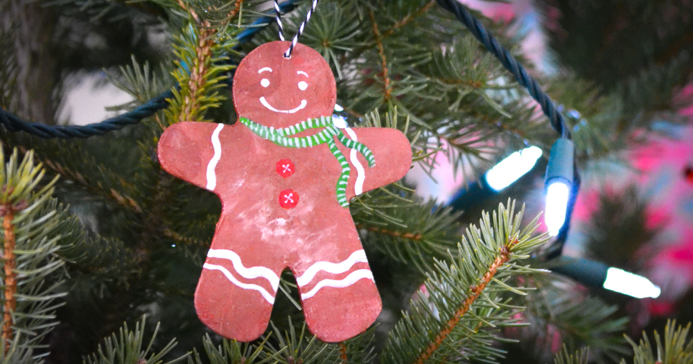 Baby's First Christmas Craft: the Gingerbread Man Ornament