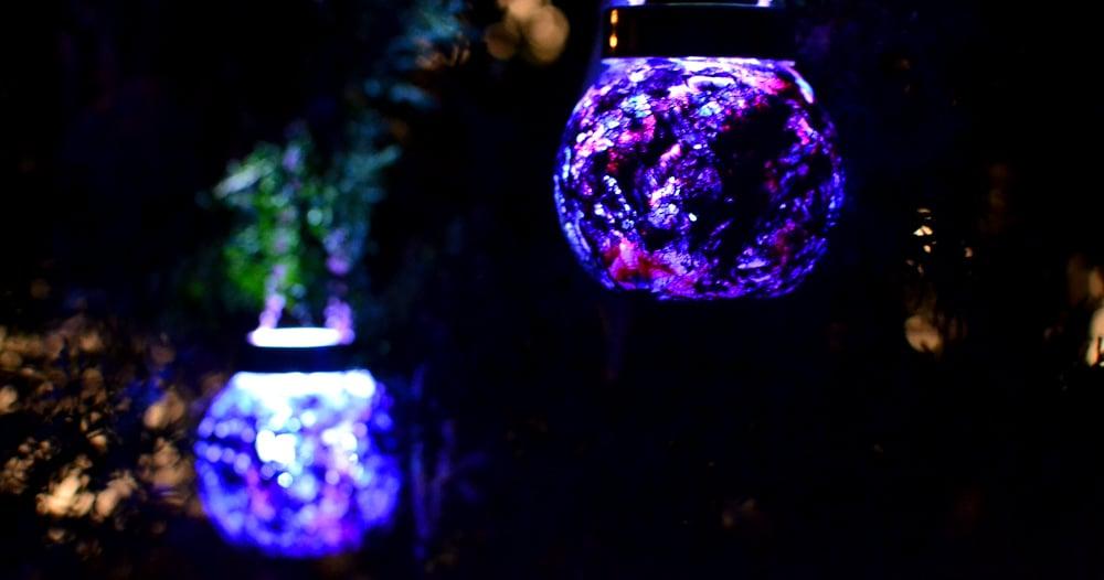 Luminescent Christmas Ornaments