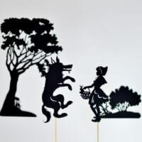 Little Red Riding Hood: Shadow Puppets