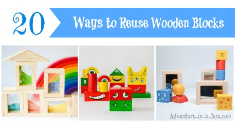 20 Ways to Reuse Wooden Blocks