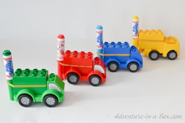 Lego Doodle Cars