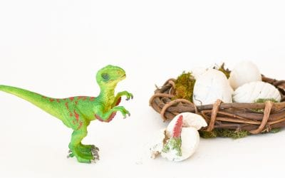DIY Dinosaur Eggs: Hunt & Hatch