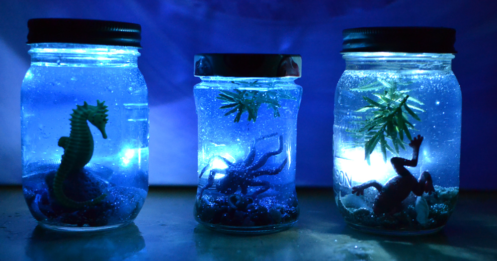 Underwater I Spy Jars