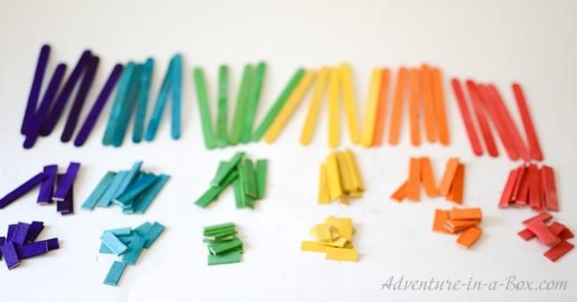Craft Stick Art for Kids
