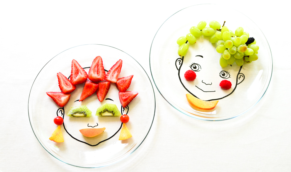 DIY Food Face Plate: for Nutritious & Beautiful Meals!