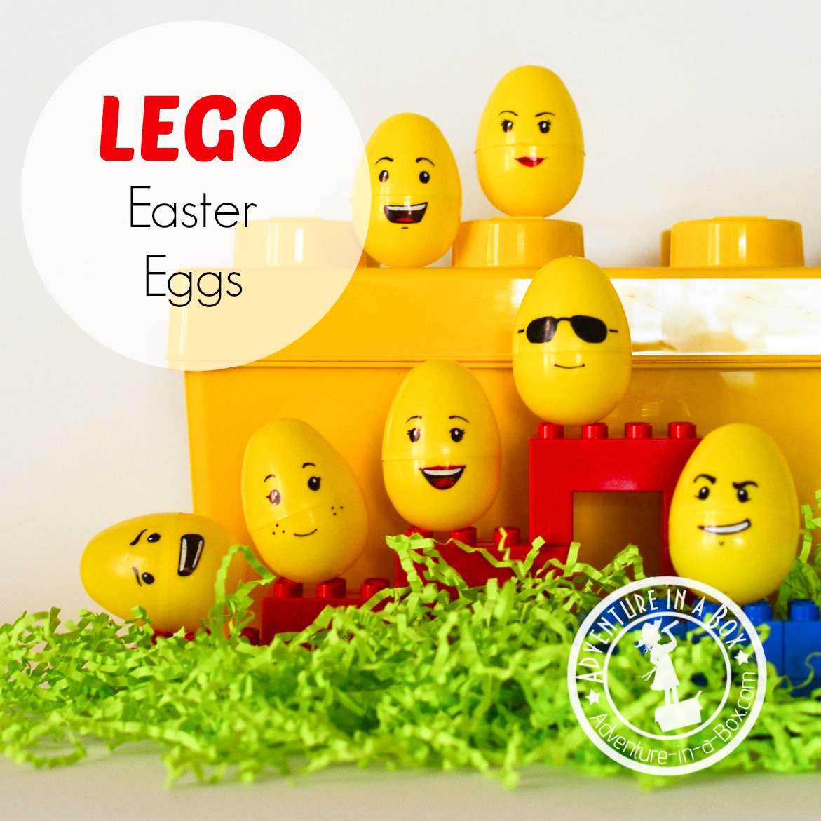 Lego Eggs: an Easter craft that adults and kids can enjoy!