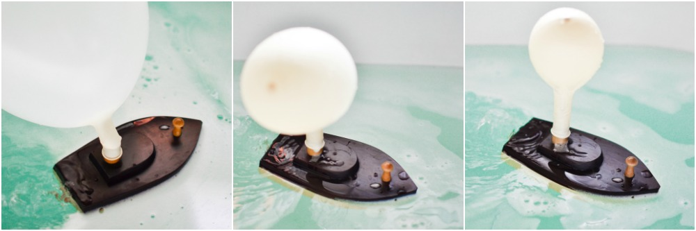 DIY Balloon-Powered Wooden Boats: Testing it out in the bathtub!