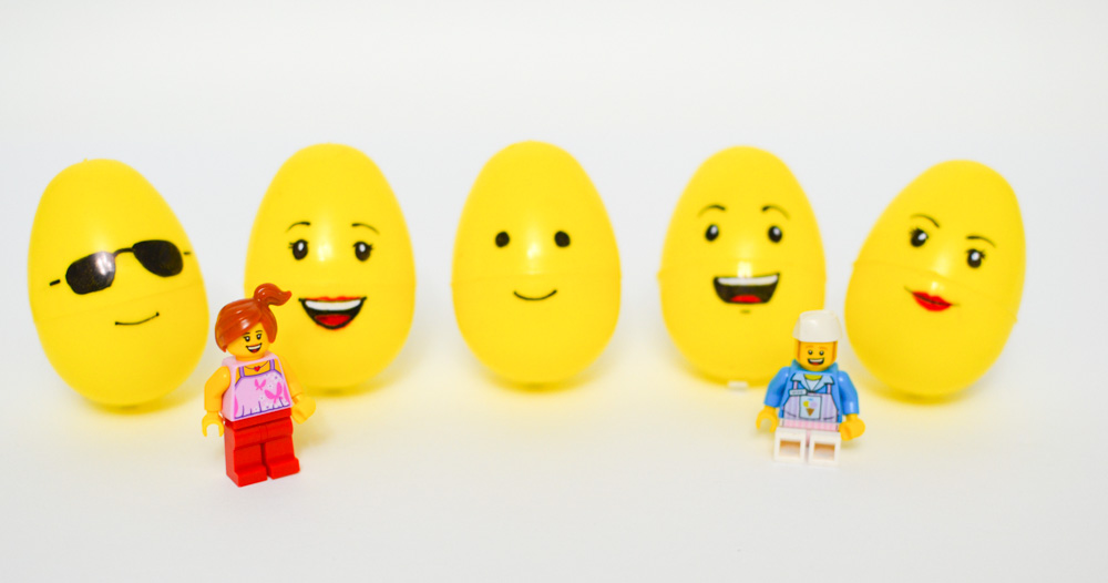 Lego Easter Egg Craft