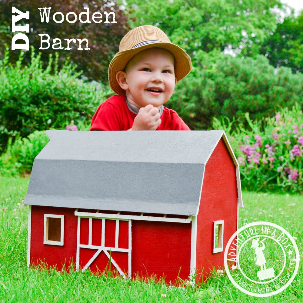 DIY Toy Wooden Barn | Adventure in a Box