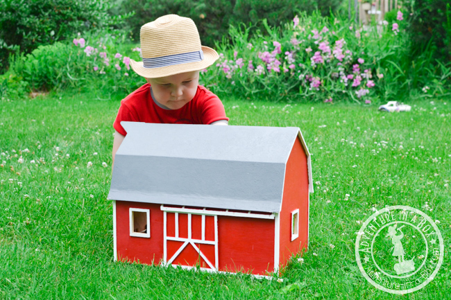 Kid S Wooden Barn Plans
