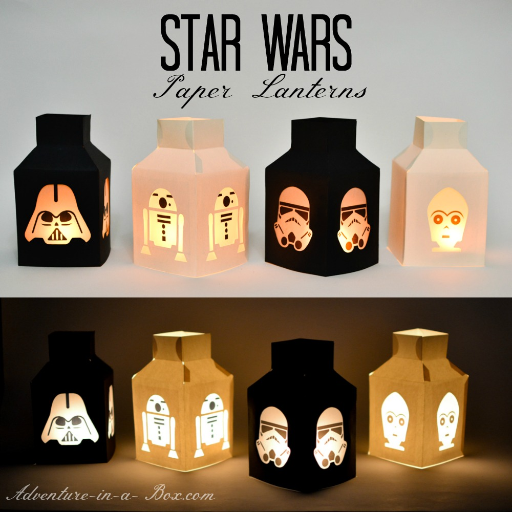 star wars lantern templates adventure in a box