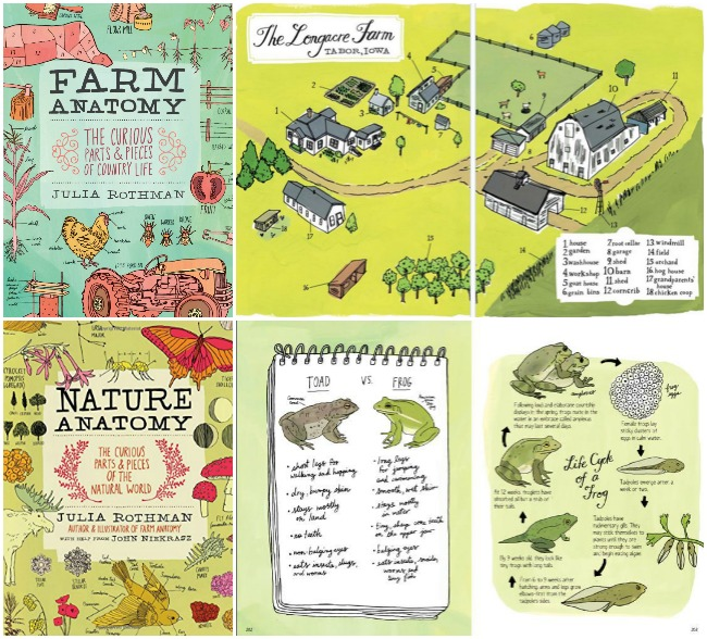 Farm Anatomy and Nature Anatomy Books