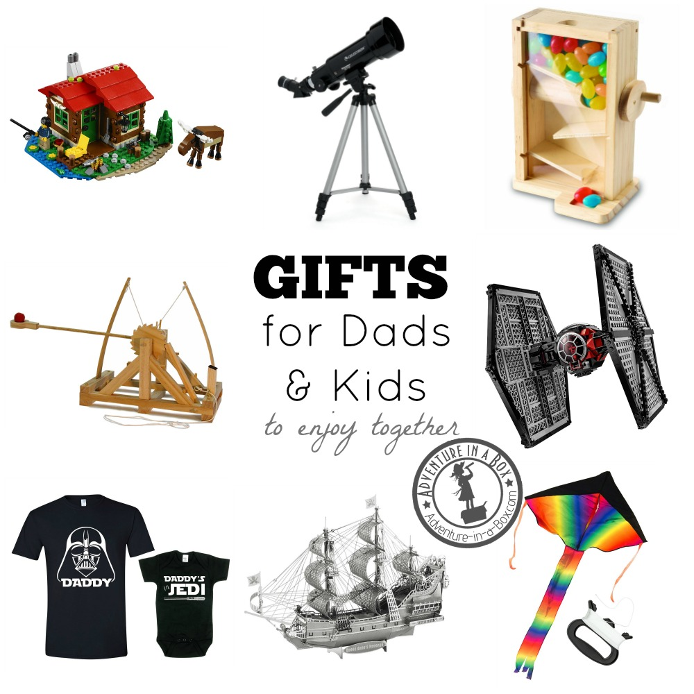 Father's Day, Birthday and Christmas gift ideas for dads who like spending quality time with kids and have some innocent fun.