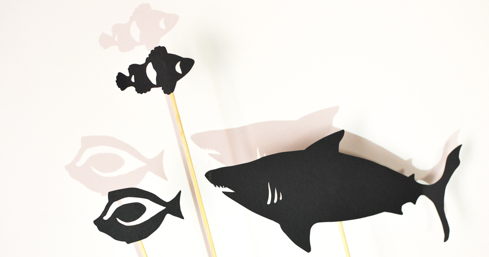 Ocean Life Shadow Puppet Set