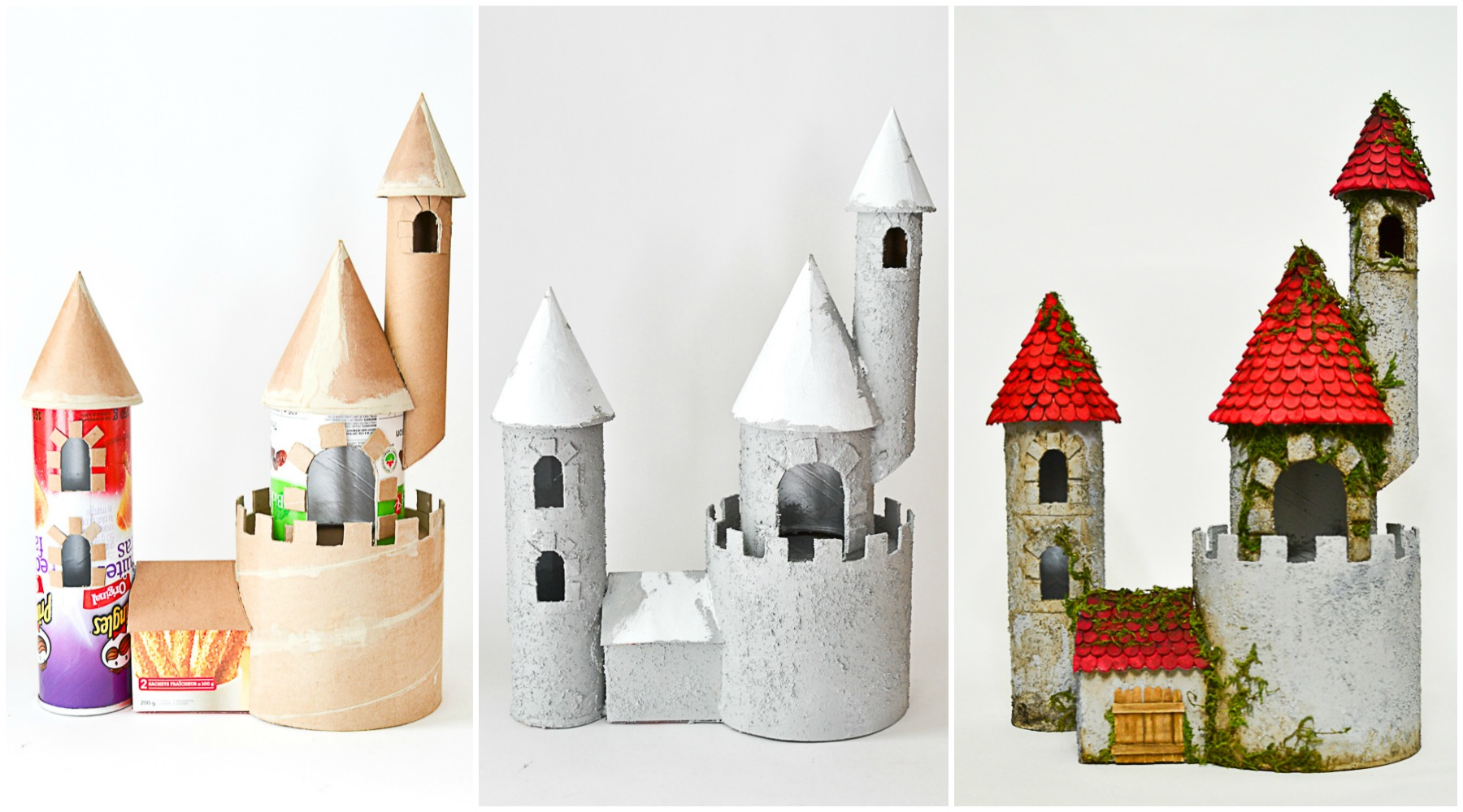 DIY Make a Castle from Recyclable Materials - Adventure in ...