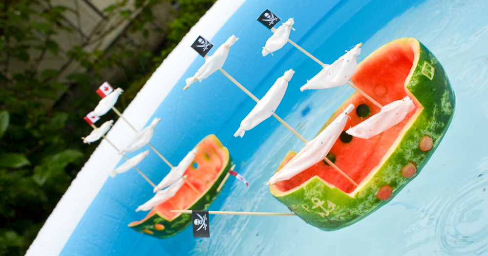 Watermelon Ship Summer Craft