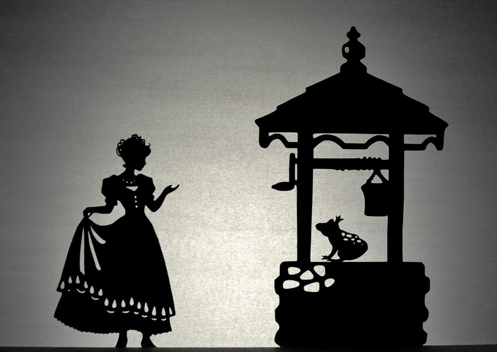 Frog Prince Shadow Puppet Set
