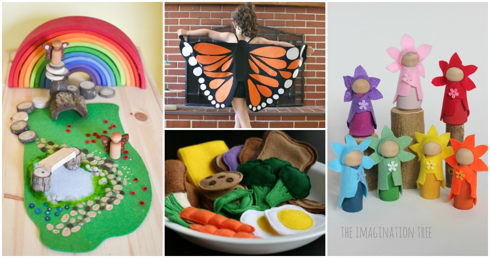 15 Felt Crafts that Moms Can Make for Kids to Play