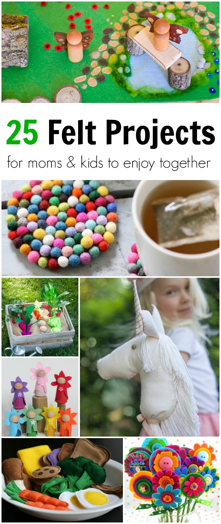 25 Felt Projects For Moms Amp Kids To Enjoy Together