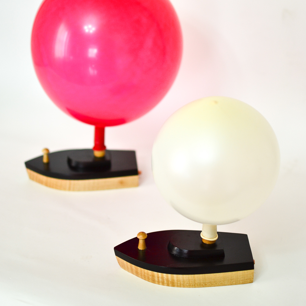 Small Jet Boats >> Balloon-Powered Wooden Toy Boat: 2 Small Racing Boats ...