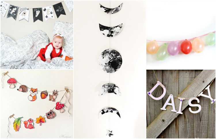 DIY Seasonal Garlands to Decorate Kid's Rooms: All year round!