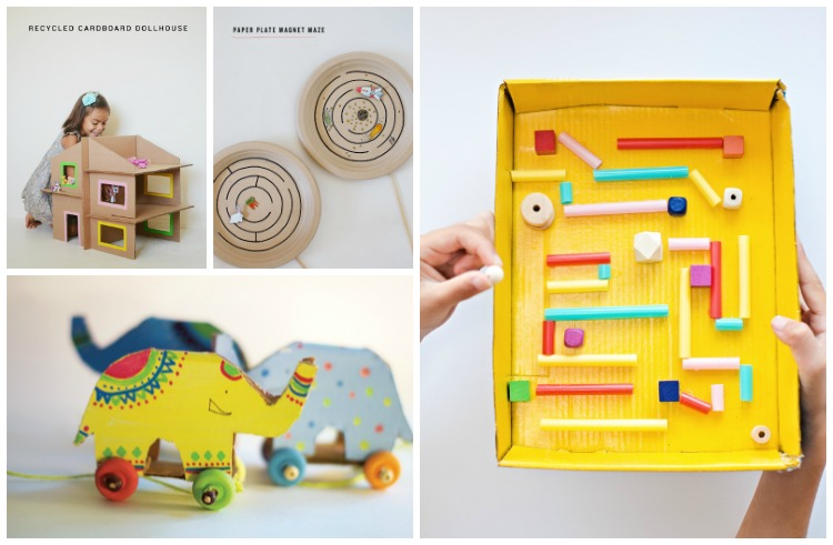 DIY Handmade Toys from Recyclable Materials: Cardboard & Paper