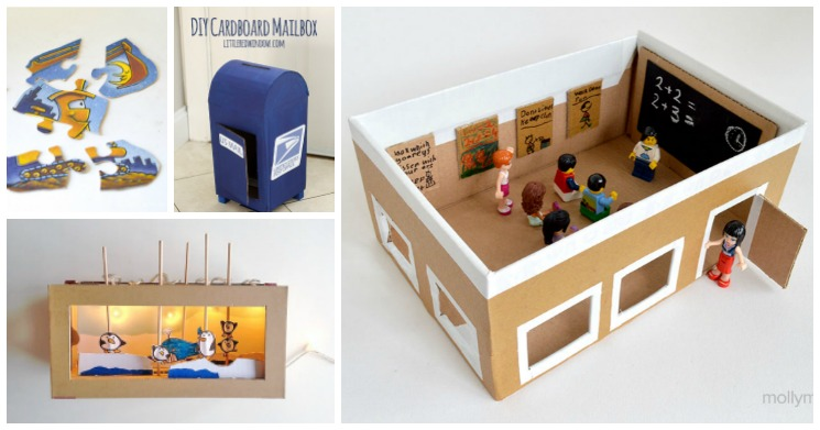 Diy toys for kids from recyclable materials adventure in for Diy from recycled materials