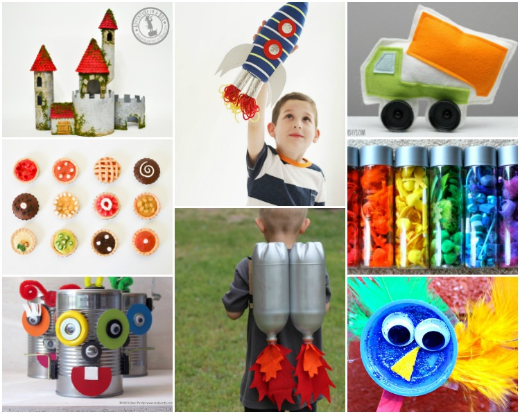 DIY Handmade Toys from Recyclable Materials: Food Containers