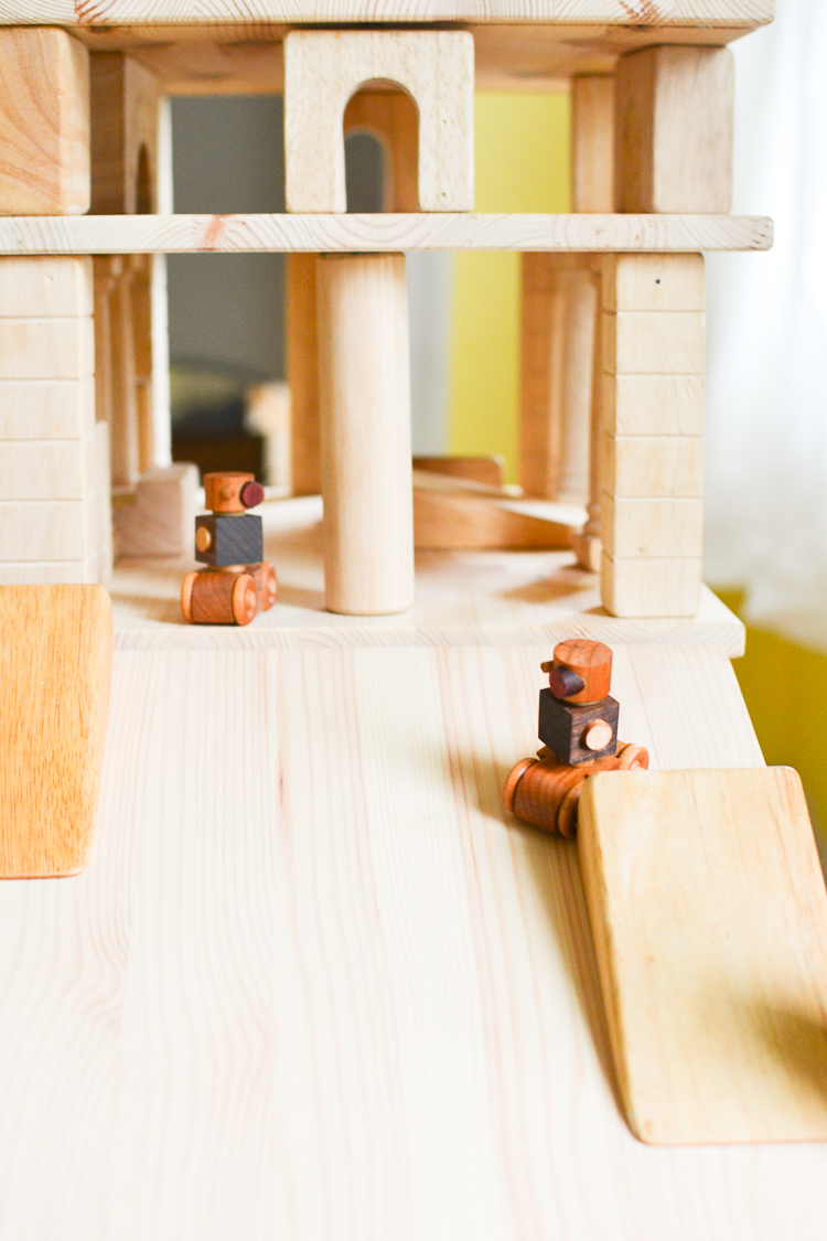 DIY Wooden Layer Blocks: Great for kids who love making ramps and garages!