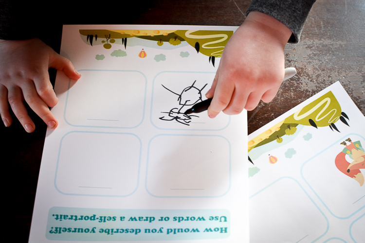 52 Questions for Children Journal: You can draw in it too!
