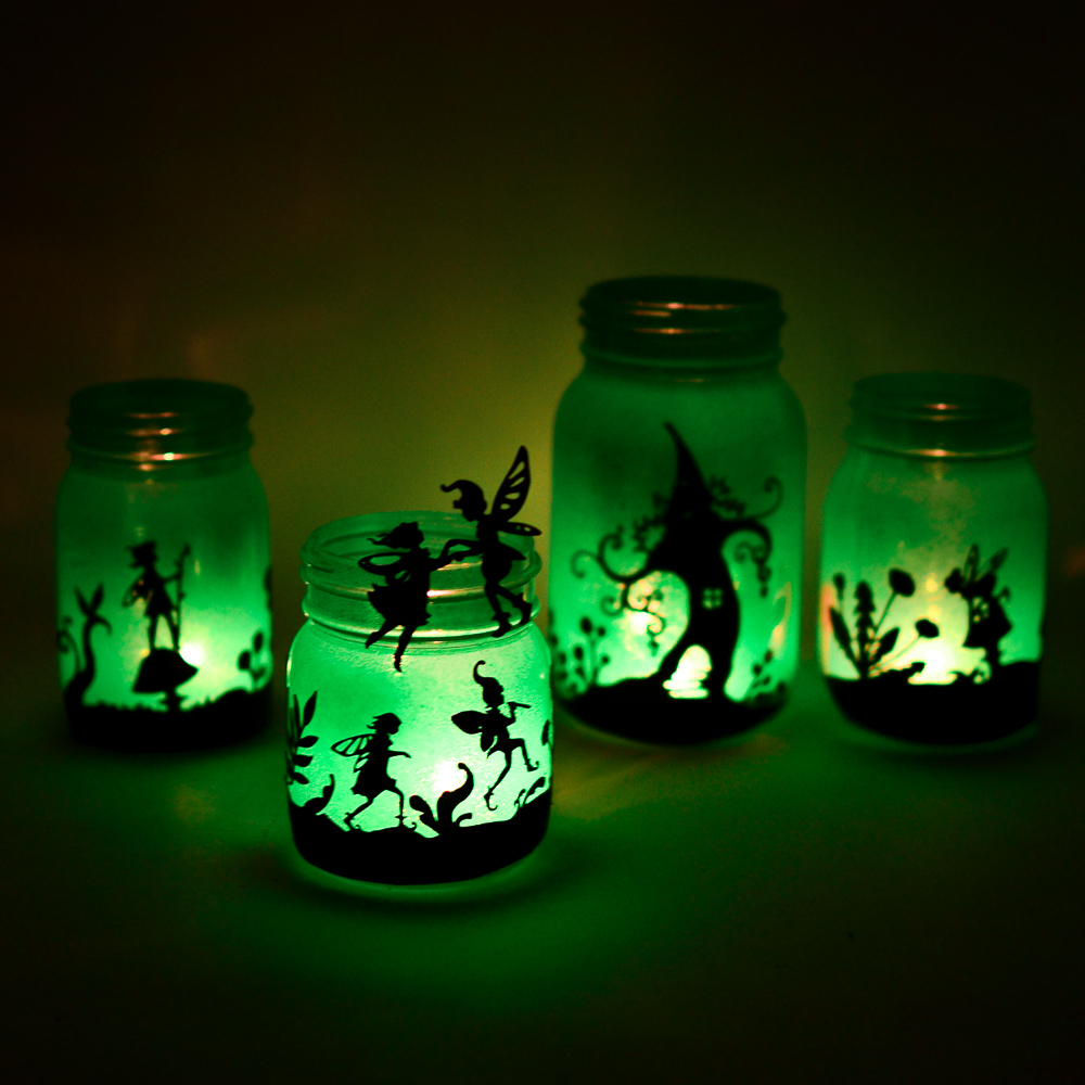 Fairyland Lanterns Printable Silhouettes Adventure In A Box