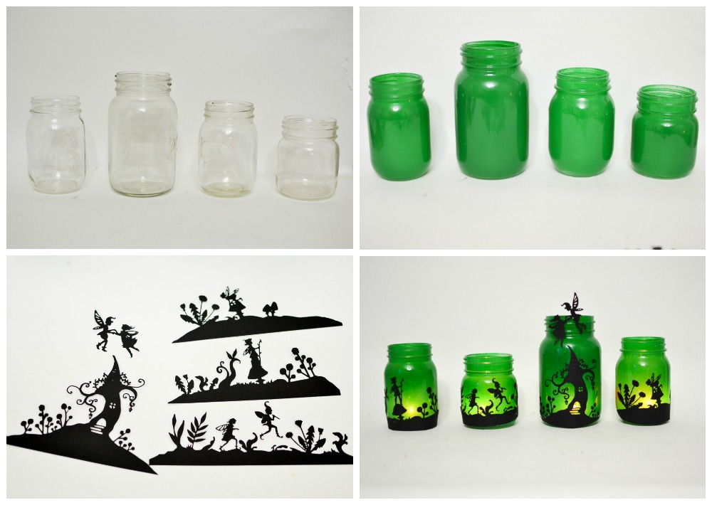 Fairy Lanterns from Mason Jars - Adventure in a Box