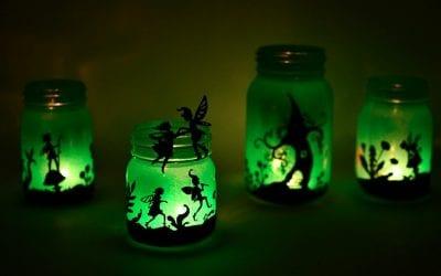 Fairy Lanterns from Mason Jars