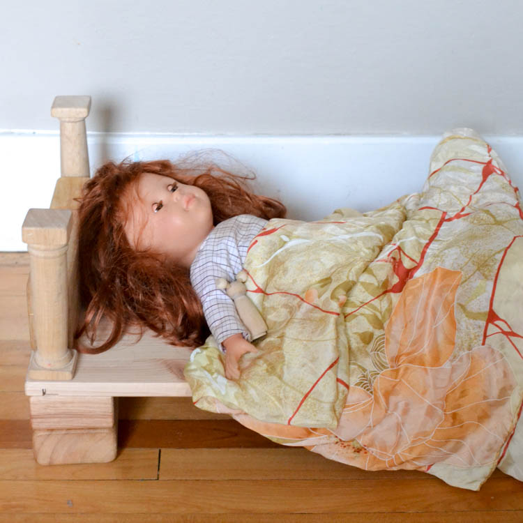 DIY Wooden Layer Blocks: You can build doll's furniture.