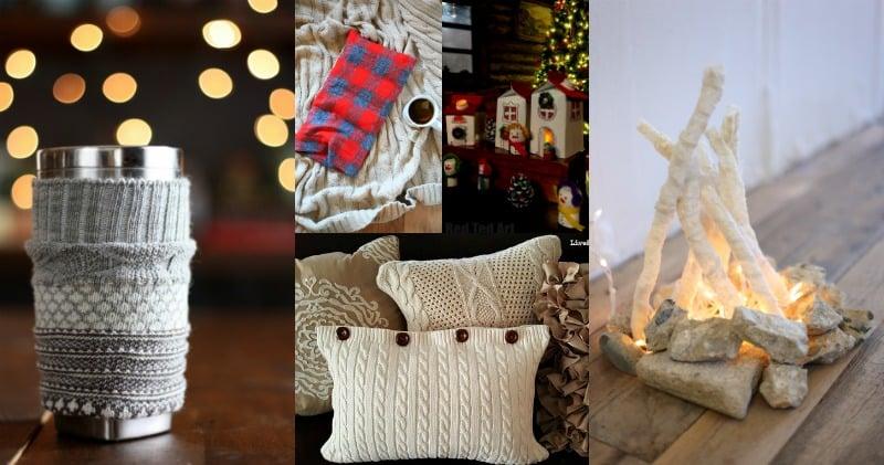 20 DIY Cozy Winter Crafts