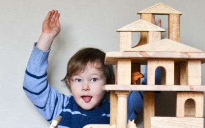 DIY Layer Blocks for Building Doll Houses and Ramps